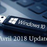Rue de l'info -Comment créer une clé USB de Windows 10 Avril 2018 Update