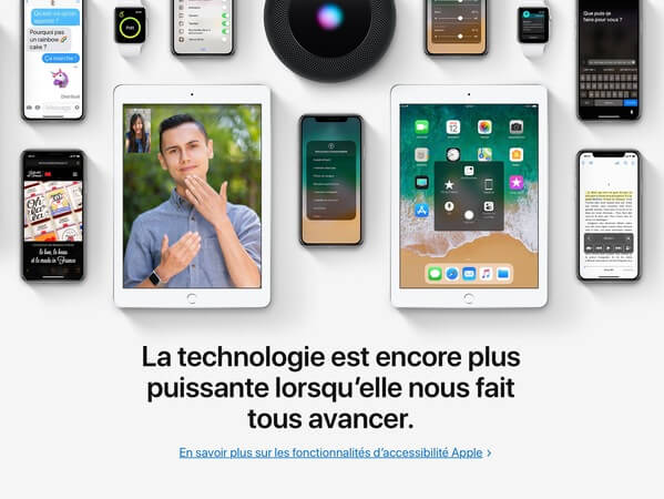 Global Accessibility Awareness Day : Apple rappelle les fonctions d'accessibilité de ses produits - Rue de l'info