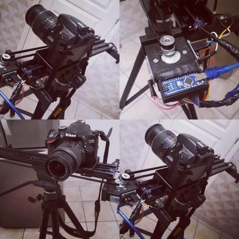 Slider Camera Arduino - Rue de l'infp