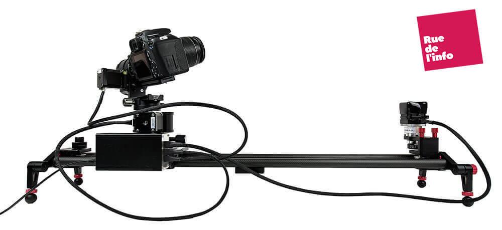 Slider Camera Bluetooth - Rue de l'info