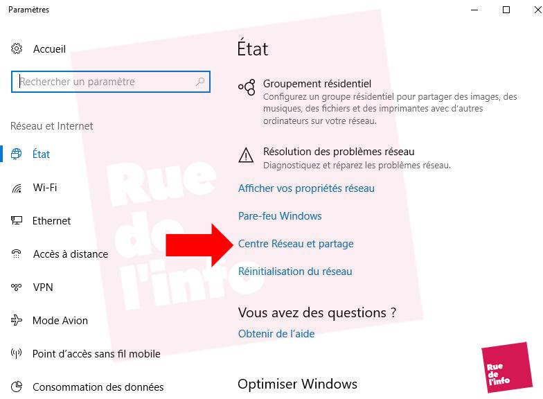 comment retrouver sa cle sous Windows 10