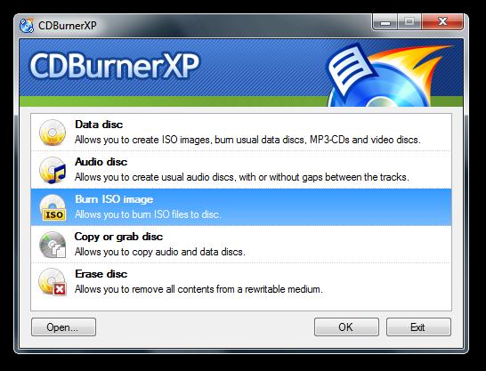 cdBurnerXP - Rue de l'info