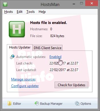 Bloquer les sites web malveillants grâce au fichier hosts