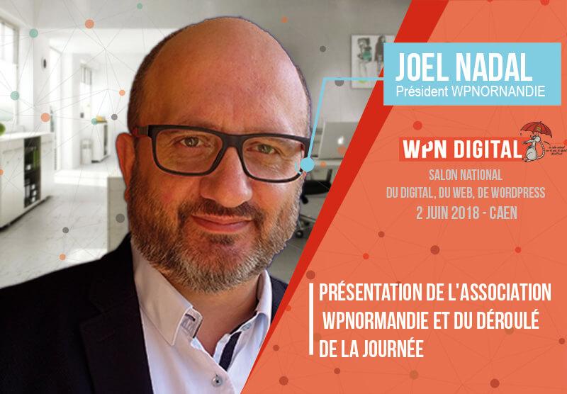Joël Nadal - Président WPNDIGITAL Caen