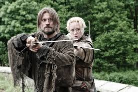 Jame Lannister et Brienne - saison 8 - Game of Thrones
