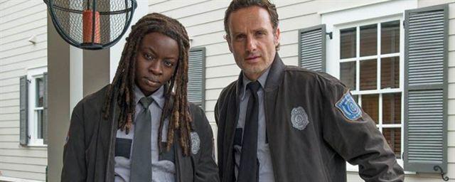 Rick et Michonne - Walking Dead