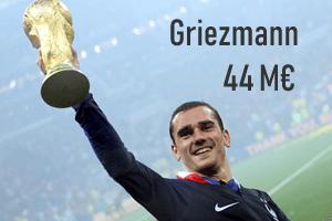 Salaire Griezmann