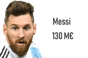 Salaire Lionel Messi