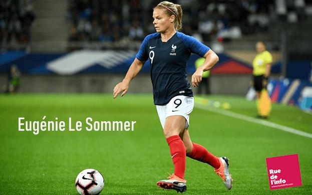 Eugénie Le Sommer - Attaquante Equipe de France Coupe du Monde 2019 en France