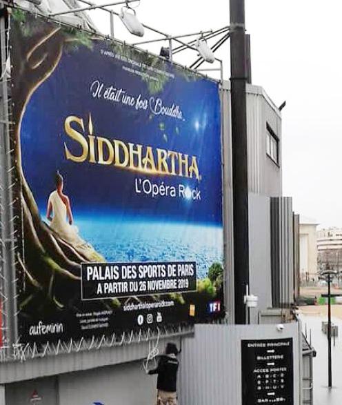 Siidhartha L'Opéra Rock au dôme de Paris